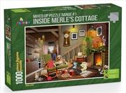Funbox Puzzle Inside Merles Cottage Puzzle 1000 pieces | Merchandise