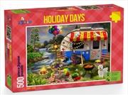 Funbox Puzzle Holiday Days Caravanning Puzzle 500 pieces | Merchandise