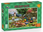 Funbox Puzzle Holiday Days Camping Puzzle 1000 pieces | Merchandise