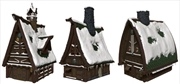 Dungeons & Dragons - Icons of the Realms Ten Towns Papercraft Set   Games