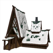 Dungeons & Dragons - Icons of the Realms The Lodge Papercraft Set   Games