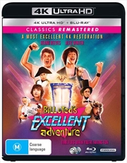 Bill And Ted's Excellent Adventure | Blu-ray + UHD | UHD