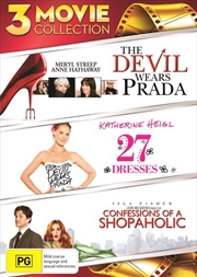 27 Dresses / Confessions Of A Shopaholic / The Devil Wears Prada | DVD
