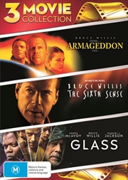Armageddon / The Sixth Sense / Glass | DVD