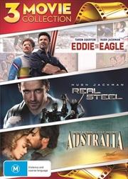Australia / Eddie The Eagle / Real Steel   DVD