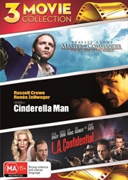 Cinderella Man / Master And Commander - The Far Side Of The World / L.A. Confidential | DVD