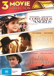 Cowgirls N' Angels / The Horse Whisperer / The Longest Ride | DVD
