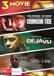 Crimson Tide / Deja Vu / Man On Fire   DVD