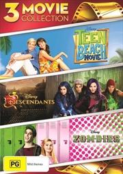 Descendants / Teen Beach Movie / Zombies   DVD