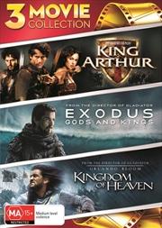 King Arthur / The Kingdom Of Heaven / Exodus - Gods And Kings | DVD