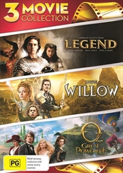 Legend / Willow / Oz - The Great And Powerful | DVD