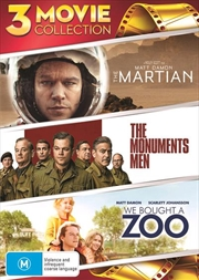 Martian / The Monuments Men / We Bought A Zoo, The | DVD