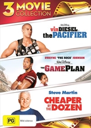 Pacifier / The Game Plan / Cheaper By The Dozen, The | DVD