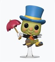 Pinocchio - Jiminy Cricket NYCC 2020 US Exclusive Pop! Vinyl [RS] | Pop Vinyl