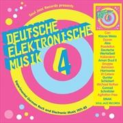 Deutsche Elektronische Musik 4   CD
