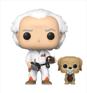 Back to the Future - Doc with Einstein US Exclusive Pop! Vinyl [RS] | Pop Vinyl