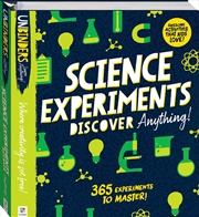Science Experiments Discover | Hardback Book