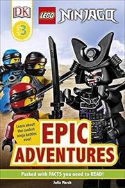 LEGO NINJAGO Epic Adventures   Hardback Book