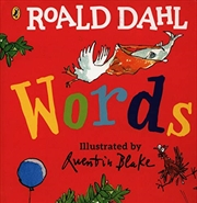 Roald Dahl: Words | Board Book