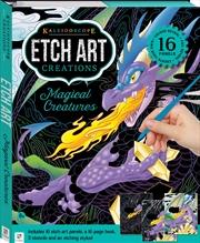 Kaleidoscope Etch Art Creations: Magical Creatures | Merchandise
