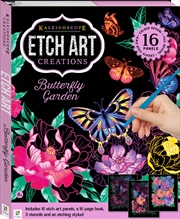 Kaleidoscope Etch Art Creations: Butterfly Garden | Merchandise