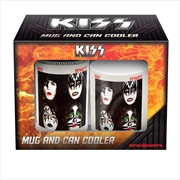KISS - Mug/Can Cooler Pack  | Merchandise