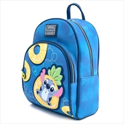 Loungefly - Lilo & Stitch - Pineapple Floaty Mini Backpack | Apparel