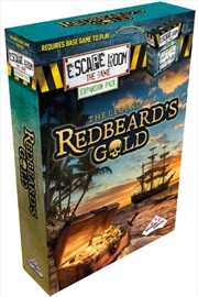 Escape Room the Game The Legend of Redbeards Gold (Expansion) | Merchandise