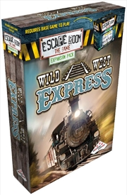 Escape Room the Game Wild West Express (Expansion) | Merchandise