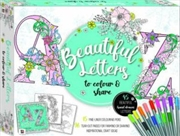 Beautiful Letters To Colour And Share Kit | Merchandise