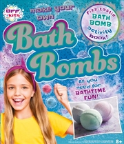 Make Your Own Bath Bombs Activity Kit | Merchandise