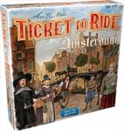Ticket To Ride Amsterdam   Merchandise