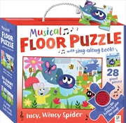 Musical Floor Puzzle - Incy Wincy Spider (SANITY EXCLUSIVE) | Merchandise