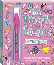 My Book of Secrets #Fashion | Hardback Book