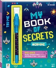 My Book Of Secrets: Gaming | Hardback Book