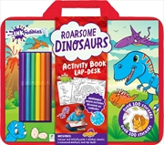 Inkredibles: Roarsome Dinosaurs Activity Book Lap-desk | Colouring Book