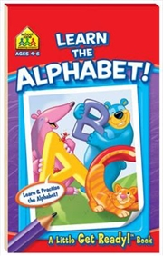 Learn the Alphabet! A Little Get Ready! Book | Paperback Book