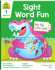 Sight Word Fun 1: Ages 6-8 | Paperback Book