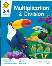 Multiplication And Division 3-4 | Paperback Book