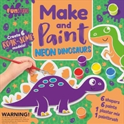 Make And Paint Neon Dinosaurs | Merchandise