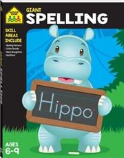 Giant Workbook: Spelling | Paperback Book