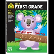 Giant Workbook: First Grade | Paperback Book