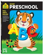 Giant Workbook: Preschool | Paperback Book