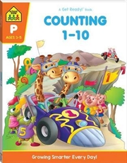 Counting 1-10 - Ages 3-5 | Paperback Book