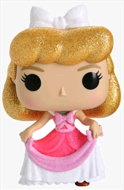 Cinderella - Cinderella Pink Dress Diamond Glitter US Exclusive Pop! Vinyl [RS] | Pop Vinyl