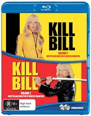 Kill Bill - Vol 1-2 | 2 Movie Pack | Blu-ray