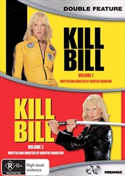 Kill Bill - Vol 1-2 | 2 Movie Pack | DVD