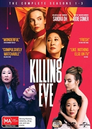 Killing Eve - Season 1-3 | DVD