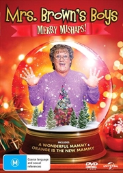 Mrs. Brown's Boys Merry Mishaps! A Wonderful Mammy / Orange Is The New Mammy | DVD