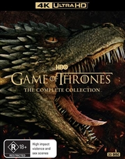 Game Of Thrones - Season 1-8 | UHD - Complete Collection | UHD